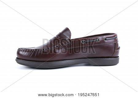 Afife, Portugal - November 15, 2016: Jack Morgan Shoes. Jack Morgan, Portuguese company. Isolated on white. Product shots