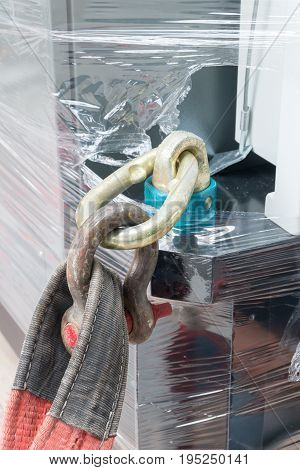 Steel Screw Pin Anchor Shackle.