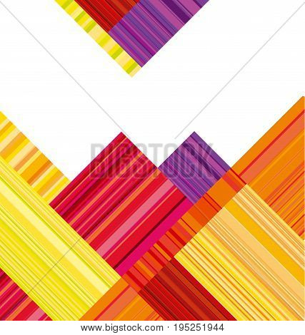 red and orange abstract header. vector wallpaper with colorful stripe. line stripe style color design. pattern wallpaper. geometric background