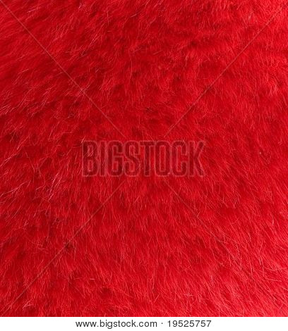 furry red background