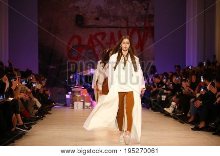 Ukrainian Fashion Week Aw 2017/18: Collection By Gasanova
