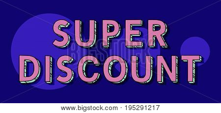 Super Discount Vector Tag