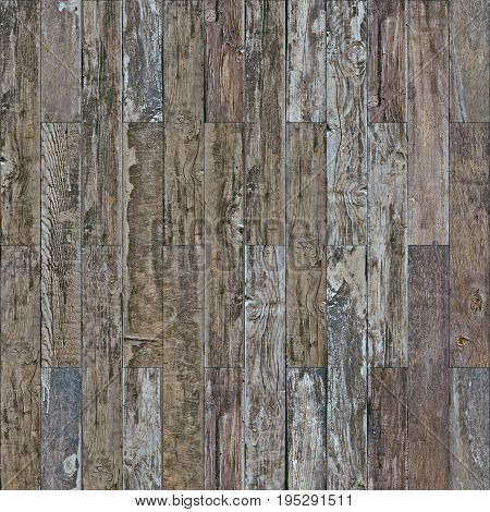 Seamless vintage wood parquet old wall texture