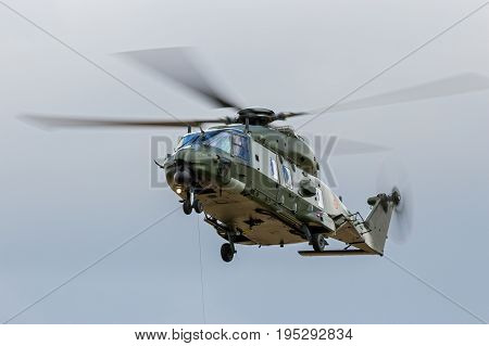 Belgian Army Nh-90 Helicopter