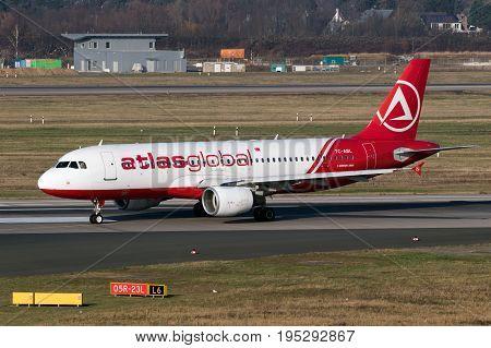 Airbus A-320 Plane Atlasglobal