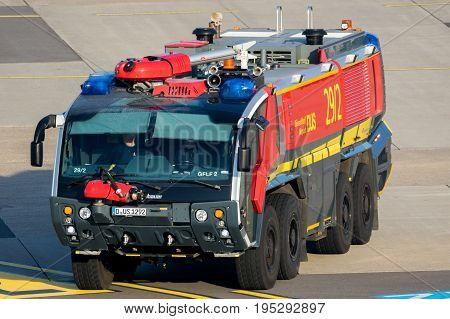 Crashtender Airport Fire Truck