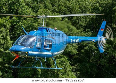 Blue Bell 206 Helicopter