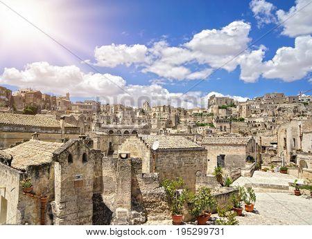 Matera, Basilicata, Italy, European Capital of Culture 2019