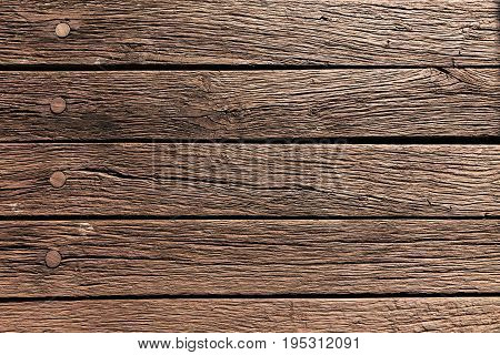 Wooden planks with a distinctive drawing and patina. Wooden floor base. Concept of wood. Structure of wood on old planks.