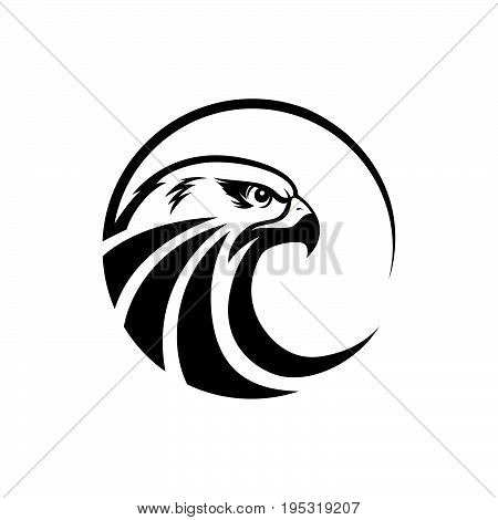 Save Download Preview Eagle head logo - vector illustration, emblem design on white background