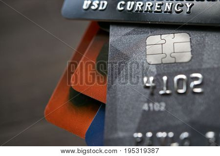 Bank Payment Credit Cards With Usd Currency