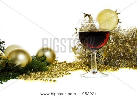 Decorations and Wine