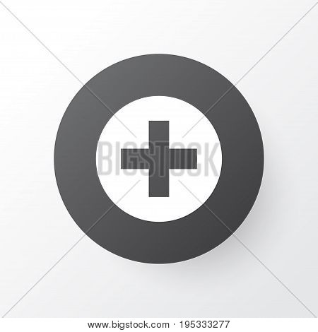 Medical Sign Icon Symbol. Premium Quality Isolated Plus Element In Trendy Style.