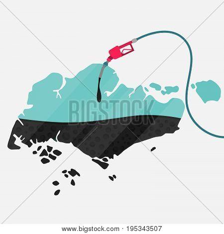 Oil Of Singapore