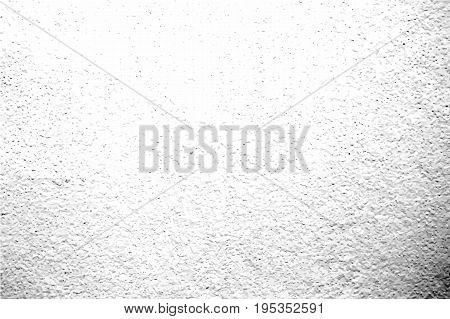 Grunge texture with grain and dirt. Obsolete concrete wall. Weathered asphalt surface. Black and white monochrome vector texture. Aged and scratched stone overlay for vintage effect. Grit trace