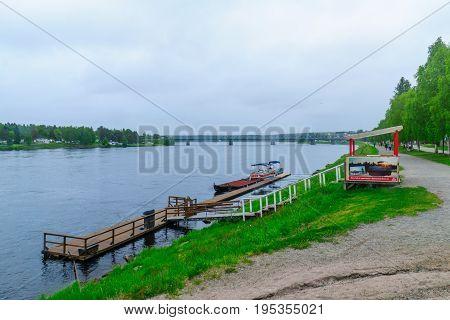 Kemijoki River, In Rovaniemi
