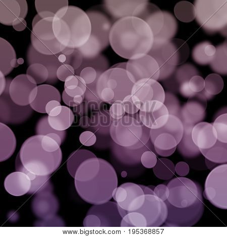 Violet Pink Bokeh Soft Abstract Texture Background Design
