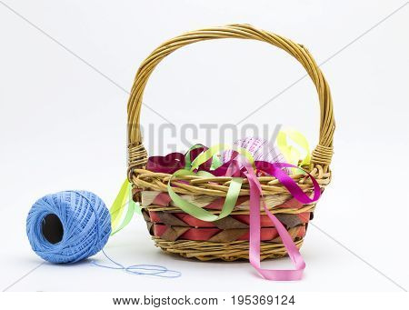 Basket With Thread