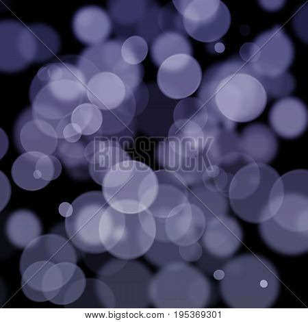 Blue Bokeh Soft Abstract Texture Background Design