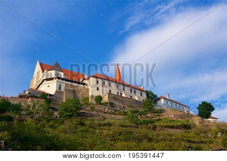 Historic Chateau Znojmo in Czech Republic Europe