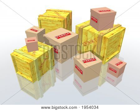 Export Boxes And Packages