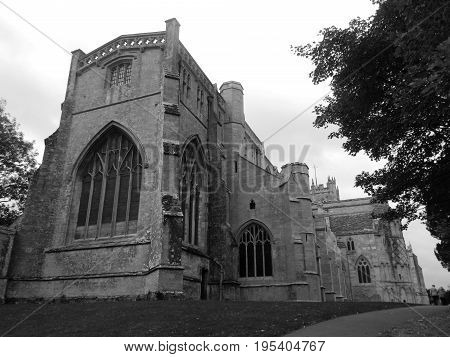 Christchurch Priory Dorset England, Grade I listed