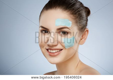 Cute Girl With Face Mask
