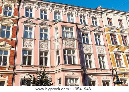 Lovely restored old house at the Prenzlauer Berg district in Berlin