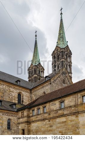The Bamberg Cathedral (German: Bamberger Dom) is a church in Bamberg Germany completed in the 13th century