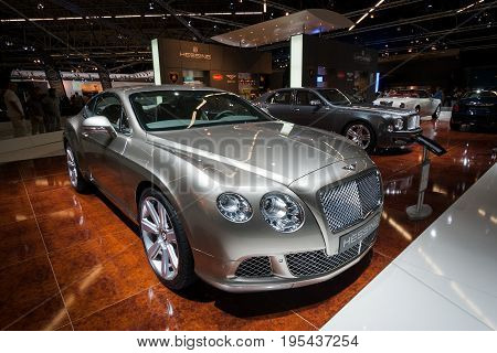 Bentley Continental Gt Car