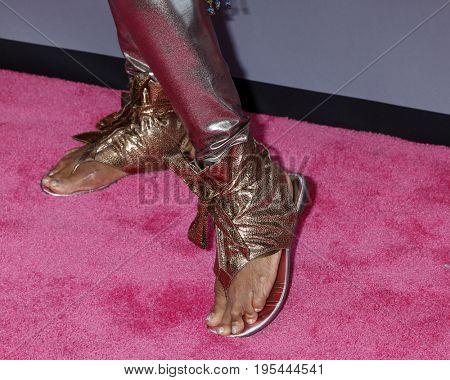 LOS ANGELES - JUL 13:  Loretta Devine;s shoes at the