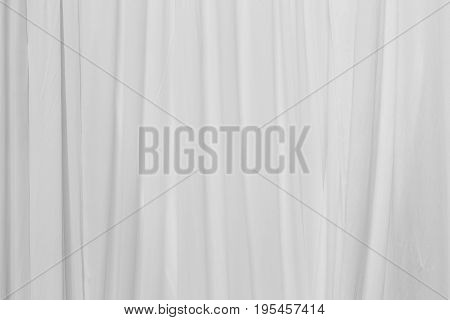 white pleat fabric or white curtain background