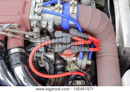 Car Engine Ignition Distributor , 4 cyliders typical .