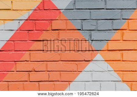Abstract graffiti on the wall, very small detail. Street art close-up, stylish pattern. Can be useful for backgrounds and backdrops. Aerosol