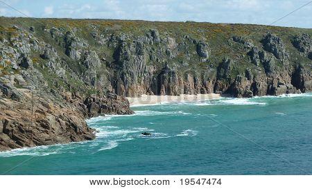 cornwalls rugged coastline