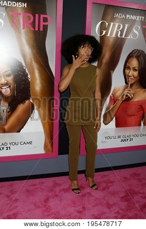 LOS ANGELES - JUL 13:  Yara Shahidi at the