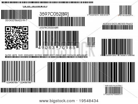 Standard Barcodes And Shipping Barcode
