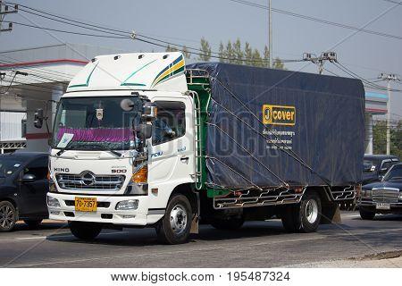 Private Hino Dominator 500 Cargo Truck.