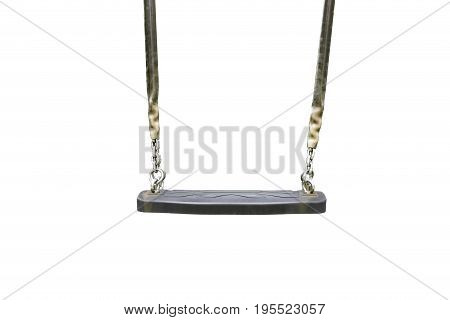 Plank swing isolated white background (Front and side)