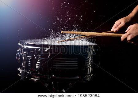 The Drum Sticks Are Hitting