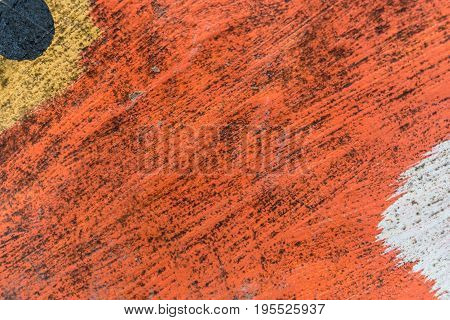 Red yellow Rough colorful concrete texture background