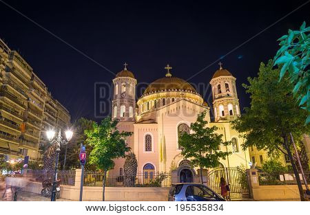 Metropolitan church of St. Gregory Palamas, Thessaloniki - Greece
