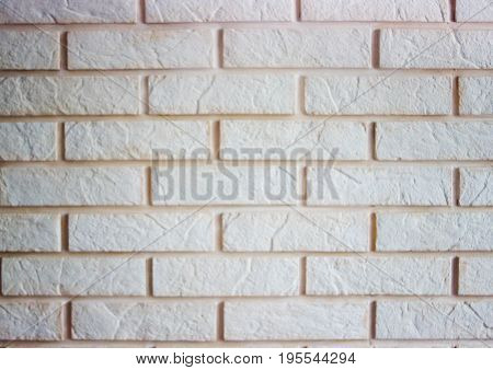 Brickwork With Plaster Tiles