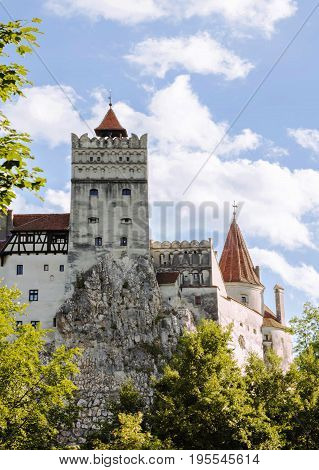 Bran Castle - Count Dracula's Castle, Romania, the mythic place from where the legend of dracula emerged
