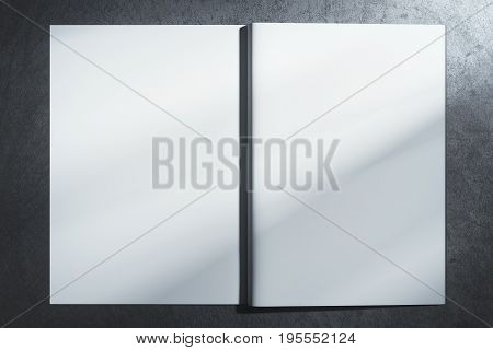 White Hardcover Notebook