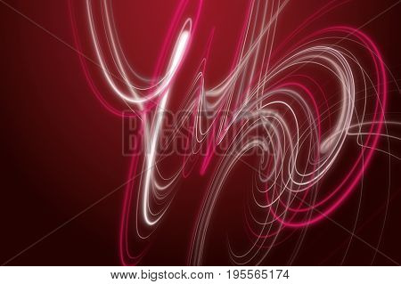 Powerful stripe wave background design illustration in red