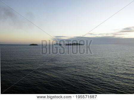 Scene Of The Kawanasausau Strait, Milne Bay Province, Papua New Guinea.