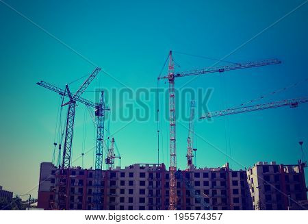 Build A House, Building Site,construction Of Houses