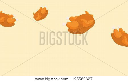 Thanksgiving background style stock collection vector art