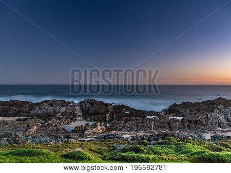 Evening Landscape At The Tsitsikamma National Park And The Otter Trail In South Africa